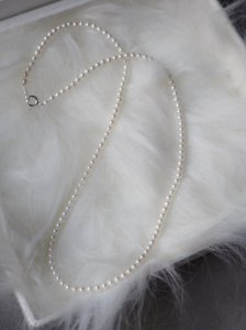 Pearl Necklace/silver