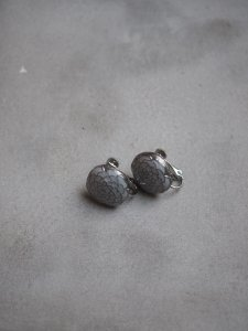 Camellia Pierce Gray/Earrings S