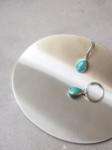 Turquoise Earrings/drop/silver