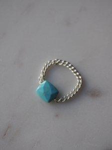 Sleeping Beauty(Arizona産)Ring/L