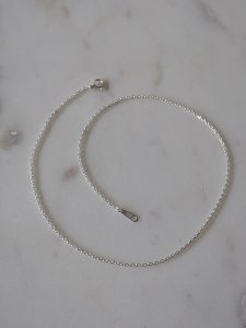 Silver Chain Necklace/36cm