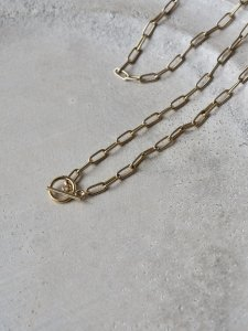 Lien Gold Chain Short Necklace/38cm