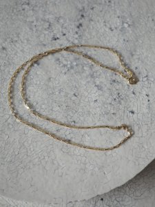 Box chain necklace 50cm/gold