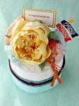 和のおむつケーキ/1段・ブルー