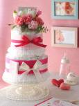 送料無料!!母の日のおむつケーキ