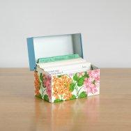 【★4】ヴィンテージ レシピボックス&カード