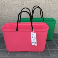 HINZA BAG -green plastic