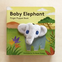 Baby Elephant:Finger Puppet Book
