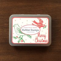 Rubber Stamps christmas bird