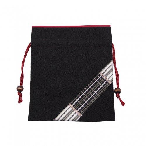 博多織のワンポイント巾着