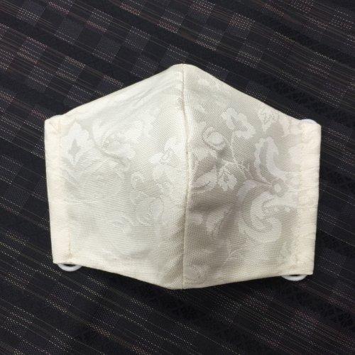 博多織マスク(唐草柄)