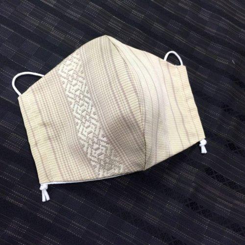 博多織マスク(献上柄 縞)