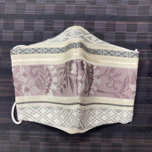 博多織マスク(隆 横縞)