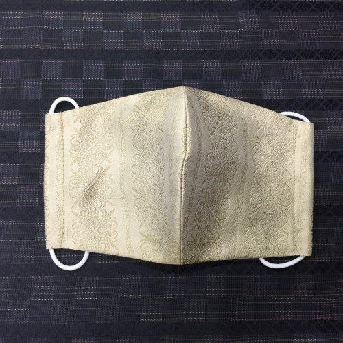 博多織マスク(四つ葉 ドレス地)
