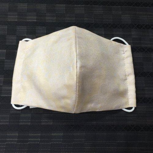 博多織マスク(ふくれ 薄ピンクドレス地)
