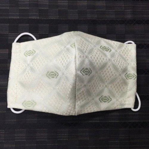 博多織マスク(七宝独鈷 ドレス地)