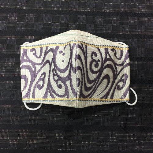 博多織マスク(紗窓 流水)