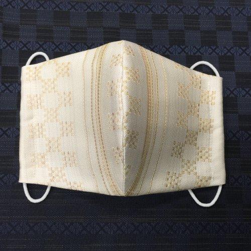 博多織マスク(市松ドット)
