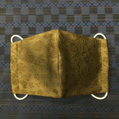 博多織マスク(唐草うろこ)