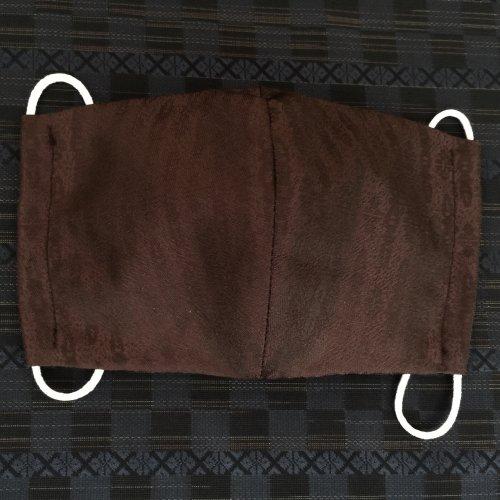 博多織マスク(独鈷 ワイン系)