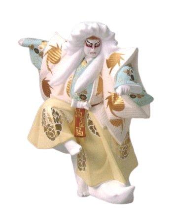 博多人形 鏡獅子(大)