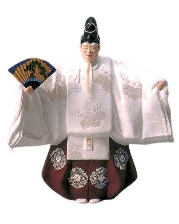 博多人形 翁(寿)