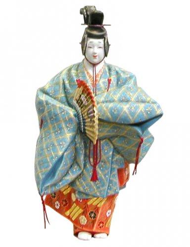 博多人形 杜若(かきつばた)
