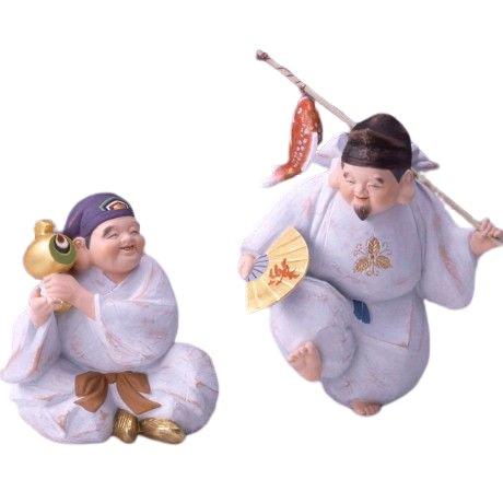 博多人形 宴(恵比寿、大黒)
