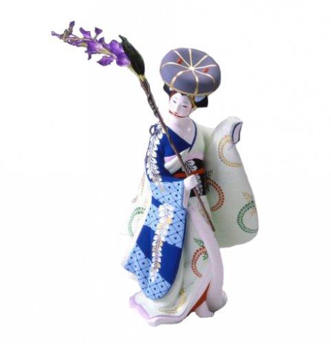 博多人形 藤の寿