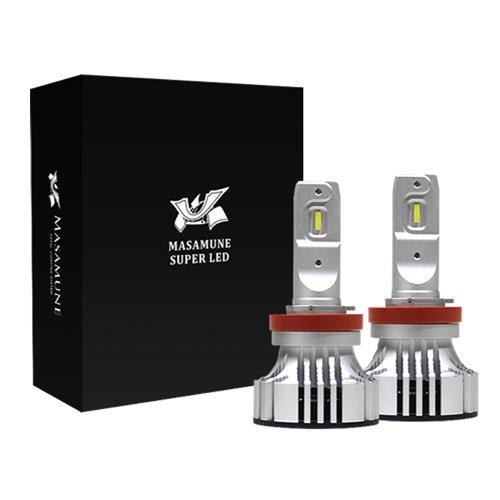 【明るさを追求★LEDライト】ヘッドライトH11 LEDキット / MASAMUNE スーパー LED H11 / ハイビームLED ロービームLED