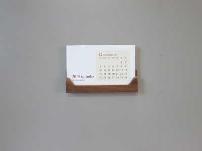 2018ホルダーカレンダー