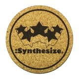 :SYNTHESIZE | CORK COASTER SET<img class='new_mark_img2' src='https://img.shop-pro.jp/img/new/icons5.gif' style='border:none;display:inline;margin:0px;padding:0px;width:auto;' />