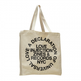 LOVE INJECTION | 'Universal Love' TOTE BAG<img class='new_mark_img2' src='https://img.shop-pro.jp/img/new/icons47.gif' style='border:none;display:inline;margin:0px;padding:0px;width:auto;' />