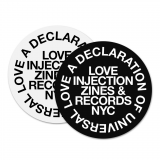 LOVE INJECTION | 'Universal Love' 12inch SLIPMAT (PAIR)<img class='new_mark_img2' src='https://img.shop-pro.jp/img/new/icons5.gif' style='border:none;display:inline;margin:0px;padding:0px;width:auto;' />