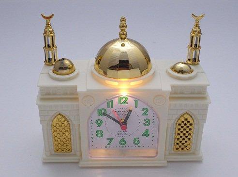 モスク型目覚まし時計 アザーン時計
