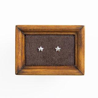 little star ピアス SV925