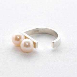 un,deux,trois [deux]  pearl rings