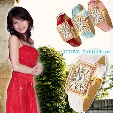 【送料無料】/JILUVA Collection/腕時計/かわいい/アナログ/レディース/ゴージャス