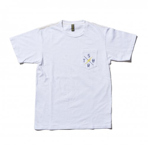 SURT × Lightning Bolt Cross Logo ICON Pocket tee