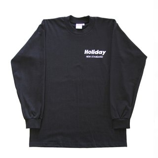 HOLIDAY L/S TEE BLACK