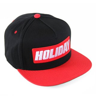 BOXLOGO SNAPBACK BLACK/RED