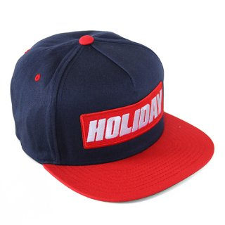 BOXLOGO SNAPBACK NAVY/RED