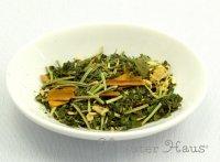 緑茶アレンジ「冷え対策ティー」