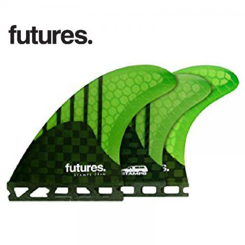 FUTURE FINS フューチャーフィン RTM HEX STAMPS 5FIN スタンプ5FIN ショートボード用 トライクアッドフ…