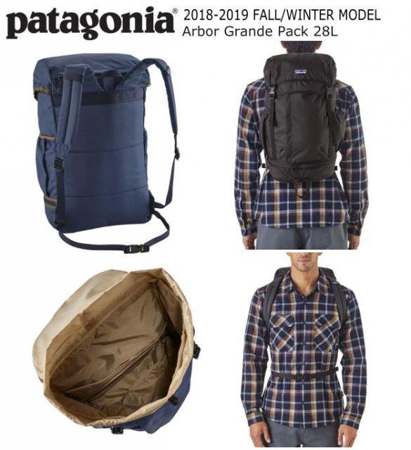 be16afaac9 PATAGONIA ARBOR GRANDE PACK 28L パタゴニア アーバー グランデパック 28L 2018-2019  FALL WINTER MODEL 日本正規品