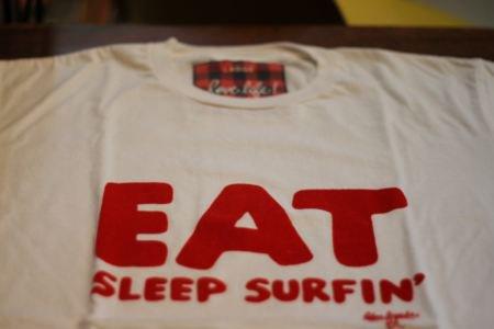 Palm graphics ■EAT SLEEP SURFING TEE■送料無料