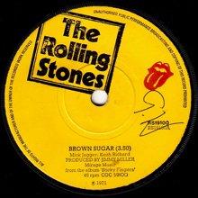 ROLLING STONES / BROWN SUGAR(7インチ) - オールジャンル・オール ...