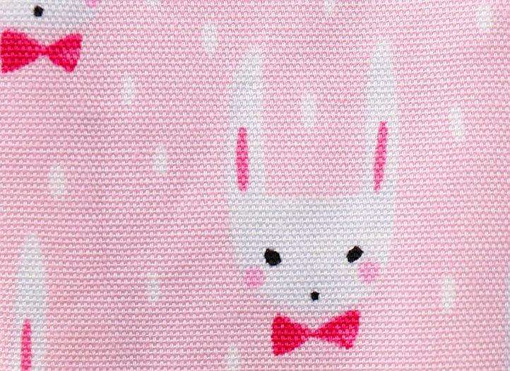 ヒエトリパット「耳長うさぎ(ピンク・ホワイト)」2枚セット