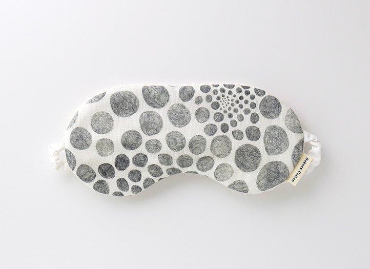 アイマスク「KAYO AOYAMA」シルクコットン stone