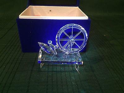 ディズニー WDCC 眠れる森の美女 マレフィセント 糸車 クリスタル 【Maleficent Spinning Wheel Martine Millan Crystal Promo…